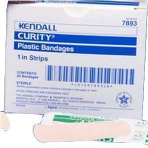 Kendall Healthcare Curity™ Plastic Bandage 3/4