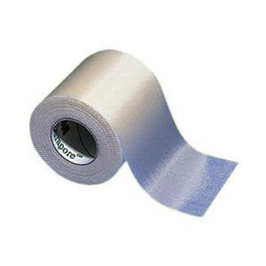 3M Durapore™ Silk Like Cloth Surgical Tape, Hypoallergenic Adhesive, Water Resistant, Latex Free 1/2