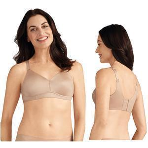 Amoena Magdalena Wire-Free Bra, Soft Cup, Size 46B, Nude Ref# 5246346BNU