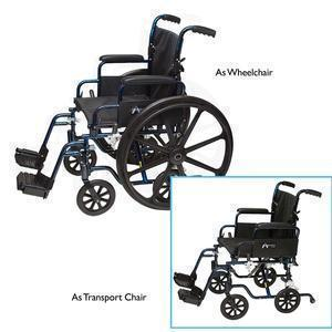 Professional Medical Imports Transformer™ Wheelchair