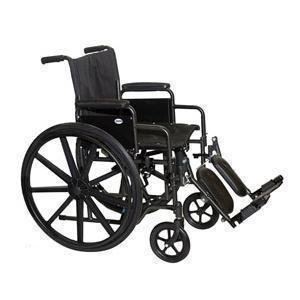 Professional Medical Economy Detachable Arm Wheelchair with Swingaway Footrest